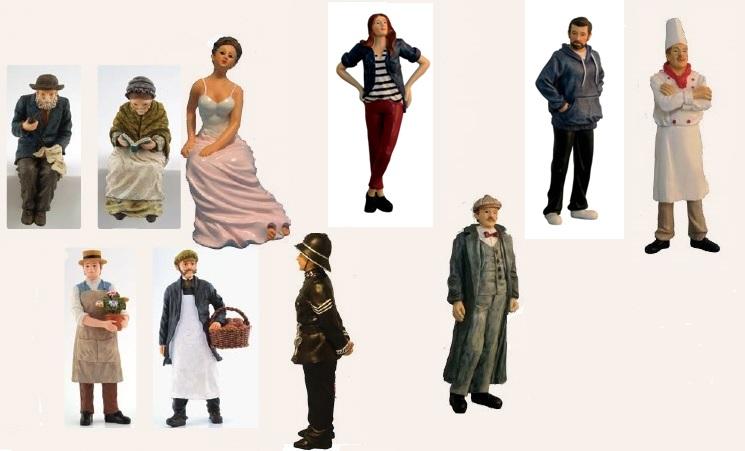 Personen, Figuren, Puppen