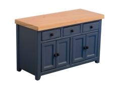 Shaker-style Sideboard Blue/Pine
