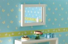 weißer Spiegel white Mirror