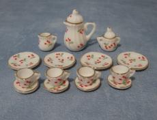 Tee-Set mit Kirschmuster Cherry Tea Set