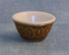 braune Rührschüssel Brown Mixing Bowl