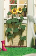 2 große Sonnenblumen Tall Sunflowers