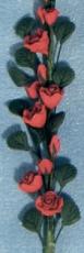 rote Rosen String of Red Roses