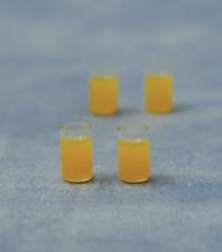 Gläser mit Saft Set of 4 Juice Glases