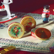 Weihnachtsdosen 3 Stück Christmas Tins 3 pcs