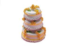 gelbe Hochzeitstorte Yellow Wedding Cake