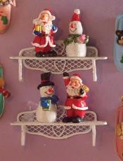 Weihnachtsfiguren 4 Stück Festive Figurines 4 pcs