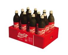 Kiste mit Cola-Flaschen Crate of Cola Bottles