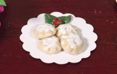 Platte mit festlichen Pasteten Plate of Festive Mince Pies