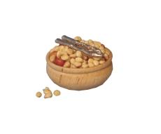 Schale mit Nüssen Bowl of Nuts and Cracker