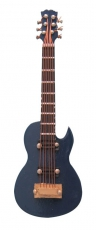 blaue Gibson Gitarre Blue Gibson Guitar