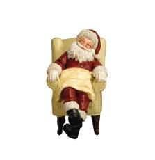 Weihnachtsmann Nikolaus schlafend Sleeping Santa in chair