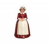 Frau vom Weihnachtsmann / Mrs Claus Figurine