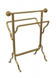 Kleiderablage messingfarben Brass Towel Rail