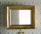 goldfarbener Spiegel