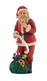 Weihnachtsmann Nikolaus stehend / Father Christmas
