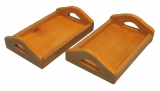 Servier-Tabletts Wood Tray Pine