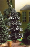 Verschneite Kiefer Nadelbaum / Snowy Pine Tree