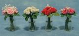 Rosen in Glasvase Roses in Glas Vase