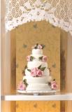 rosa Hochzeitstorte Pink Rose Wedding Cake