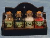 Gewürzregal Wooden Spiche Jar Rack