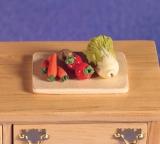 Schneidbrett mit Gemüse Choppingboard with Vegetables