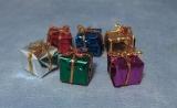 6 Geschenke 1,5 cm / 6 Presents