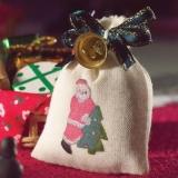 Sack mit Glöckchen / Santas Sack with Bell