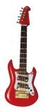 rote Washburn Gitarre Red Washburn Guitar