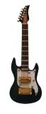 schwarze Ibanez Gitarre Black Ibanez Guitar