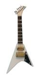 weiße Jackson Gitarre White Jackson Guitar