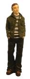 junger Mann mit Jacke Modern Man in Jacket