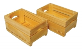 2 Tiefe Holzkisten Deep Crates