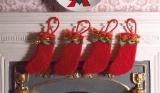Weihnachtsstrümpfe Filz Felt Christmas Stockings