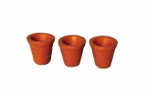 3 kleine Pflanztöpfe small Flower Pots