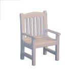 Weißer Gartenstuhl White Garden Chair
