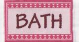 Badematte rosa Bathmath pink