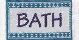 Badematte türkisblau, Bathmath blue