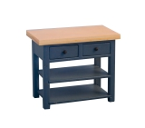 Shaker-style Sideboard small, Blue/Pine