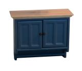 Shaker-style Wandschrank Wall Cabinet Blue/Pine